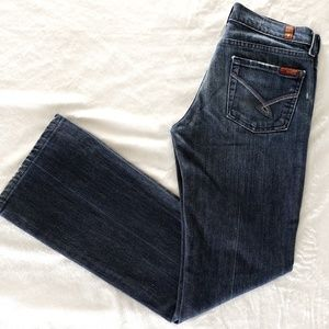 7 for All Mankind - Bootcut Denim Jeans sz 2- Boot